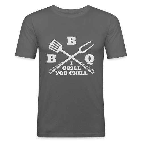 BBQ - T-shirt près du corps Homme