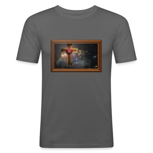 Assembly - Miesten tyköistuva t-paita