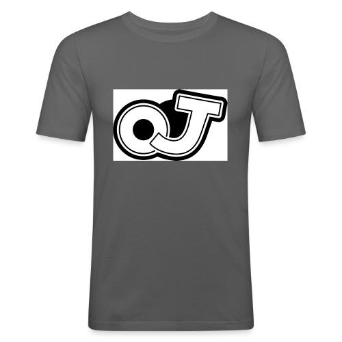 OJ_logo - Mannen slim fit T-shirt