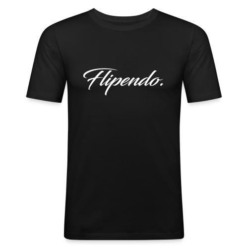 Flipendo. - Mannen slim fit T-shirt