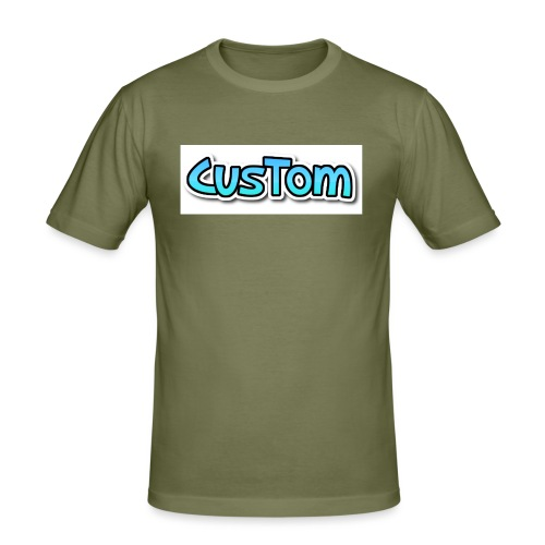 CusTom NORMAL - Mannen slim fit T-shirt