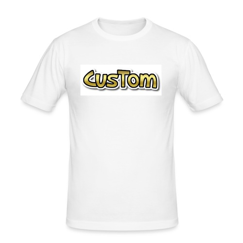 CusTom GOLD LIMETED EDITION - Mannen slim fit T-shirt