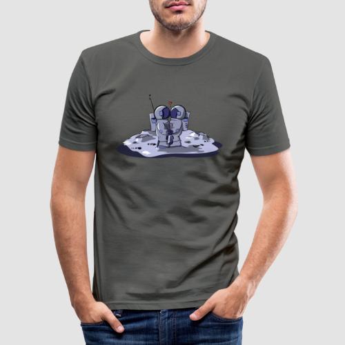 Moon Lovers - T-shirt près du corps Homme
