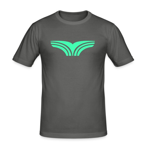Boyga Regular V-hals - Slim Fit T-skjorte for menn