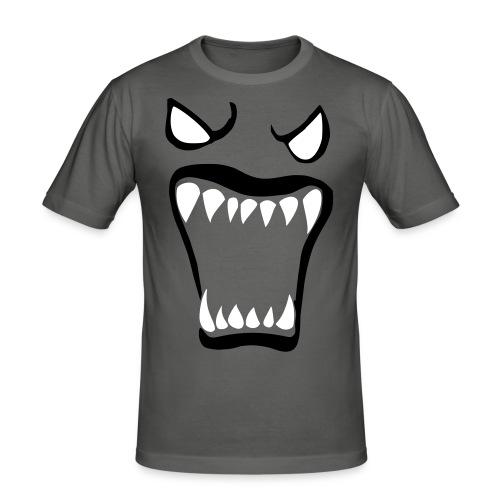 Monsters running wild - Slim Fit T-shirt herr