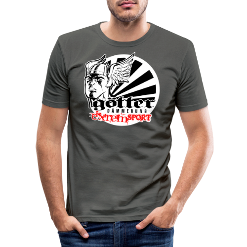 GÖTTERDÄMMERUNG - Männer Slim Fit T-Shirt