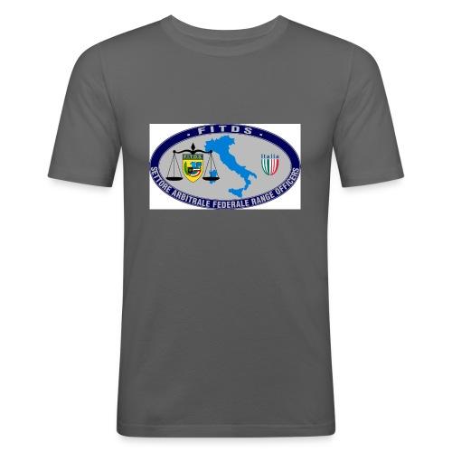 Logo SAFRO - Maglietta aderente da uomo