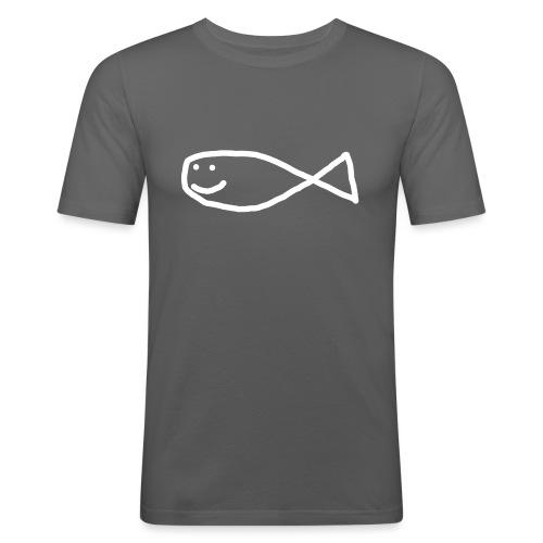 Klassisk Strandfisk Belteveske - Slim Fit T-skjorte for menn