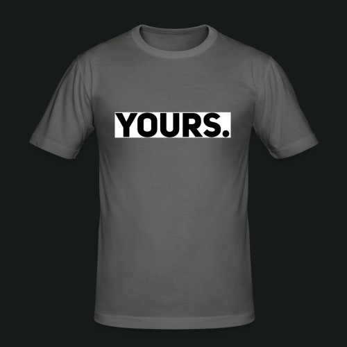 ZWART YOURS. SWEATER MAN - slim fit T-shirt