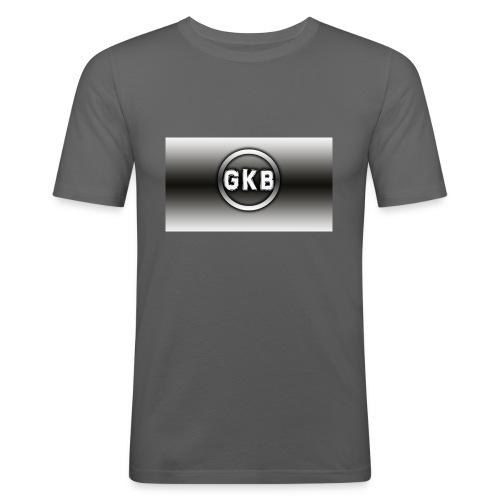 gekke boys \ - Mannen slim fit T-shirt