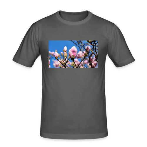 Magnolia - Men's Slim Fit T-Shirt