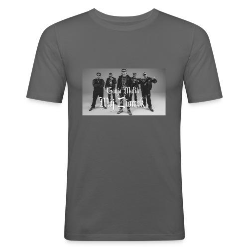 aaa - Obcisła koszulka męska