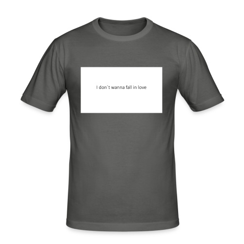 I_don-t_wanna_fall_in_love-pptx - Herre Slim Fit T-Shirt