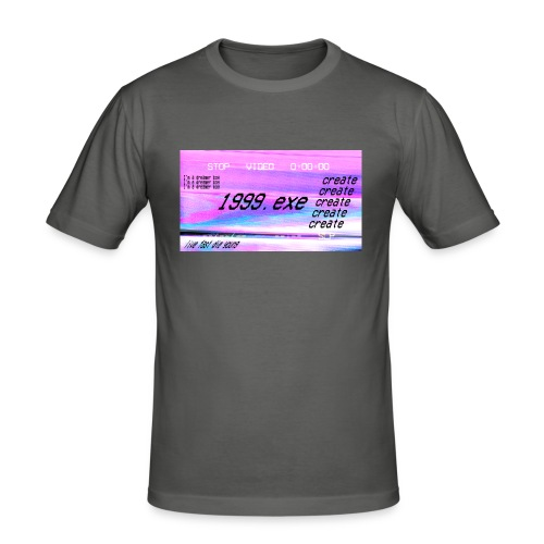 1999.exe - Camiseta ajustada hombre