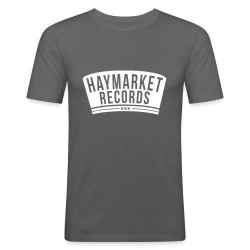 haymarketWHITE - Mannen slim fit T-shirt