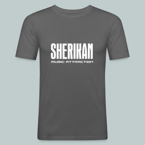 Sherikan logo - Slim Fit T-shirt herr