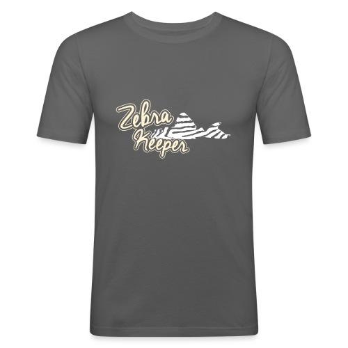Zebra Keeper - T-shirt près du corps Homme