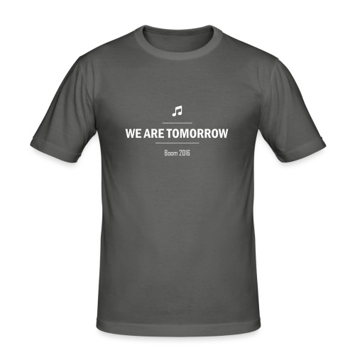 We Are Tomorrow White - T-shirt près du corps Homme