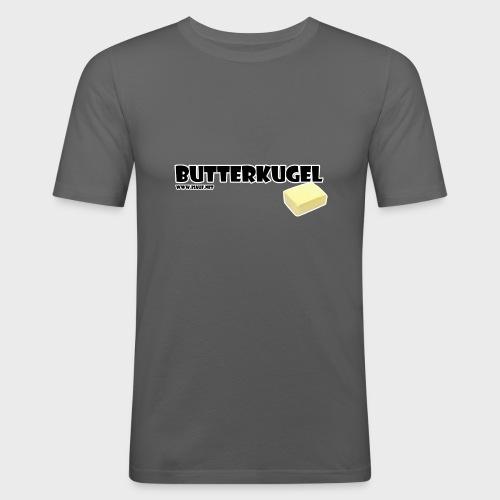 Butterkugel - Männer Slim Fit T-Shirt