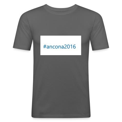 #ancona2016 - Camiseta ajustada hombre