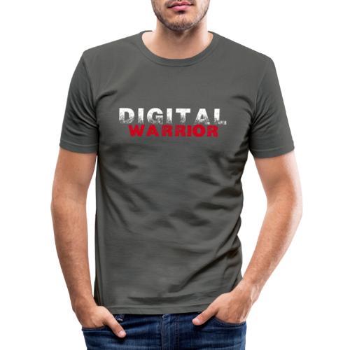 DIGITAl WARRIOR II - Obcisła koszulka męska