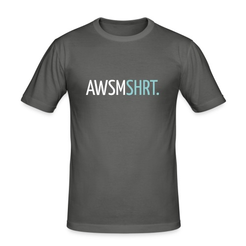 awsmshrt3000 - Mannen slim fit T-shirt