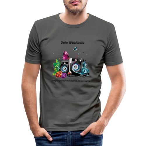 PartyFunClub 2012 - Männer Slim Fit T-Shirt
