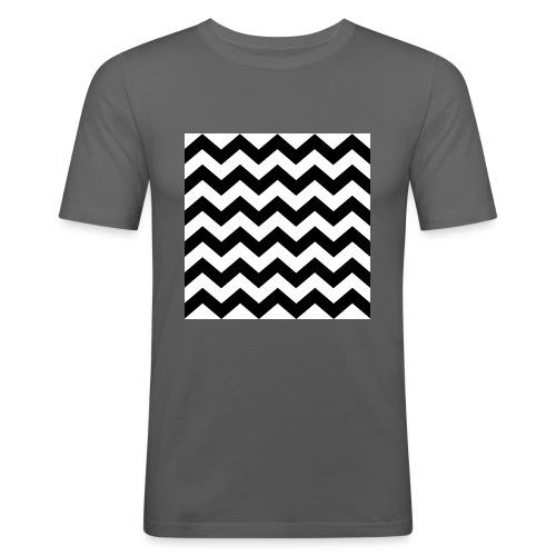 zigzag png - T-shirt près du corps Homme