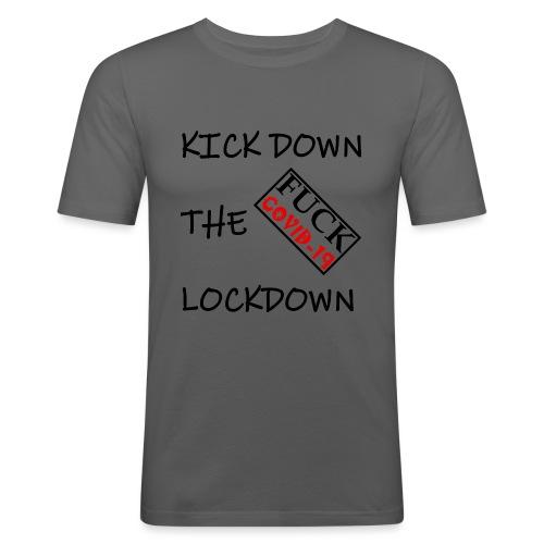 Fight COVID-19 #21 - Männer Slim Fit T-Shirt
