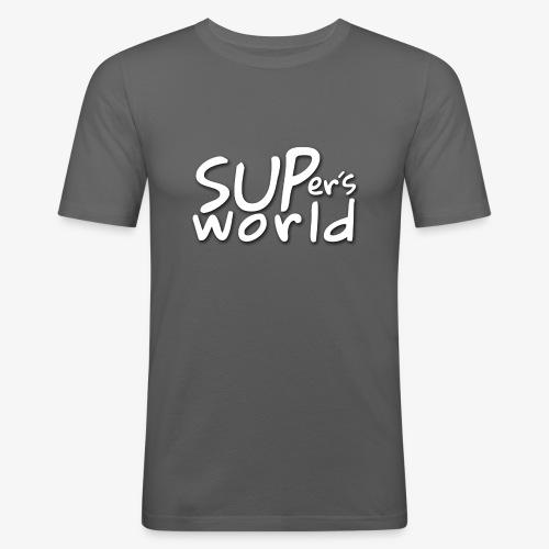 SUPers world - Männer Slim Fit T-Shirt