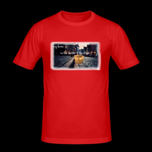 HOUSE SERIES - Mannen slim fit T-shirt