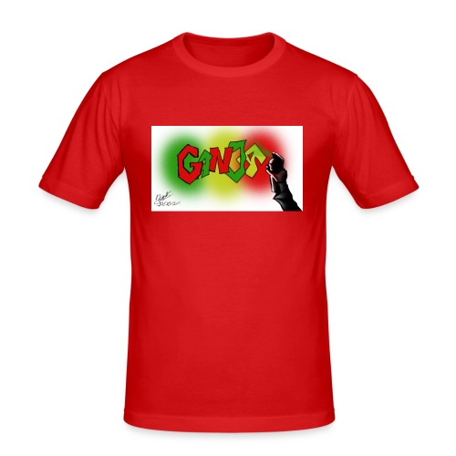 Ganja - Herre Slim Fit T-Shirt