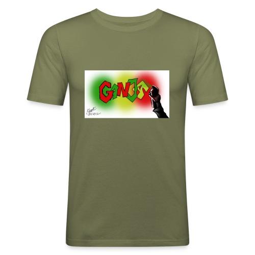Ganja - Herre Slim Fit T-Shirt