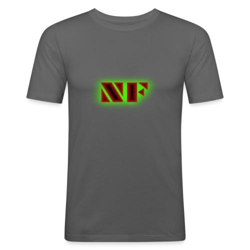 My Logo - Slim Fit T-skjorte for menn