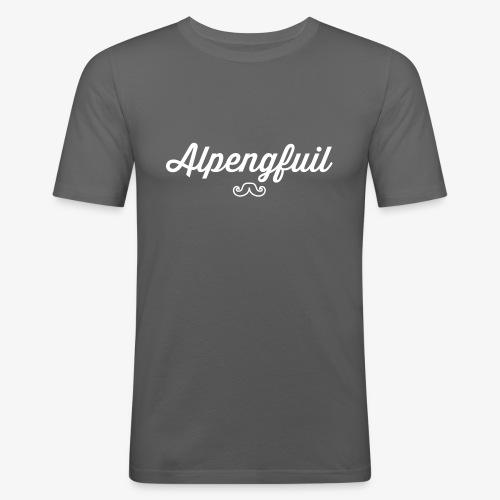 Lovely Bavarian – Alpengfuil - Männer Slim Fit T-Shirt