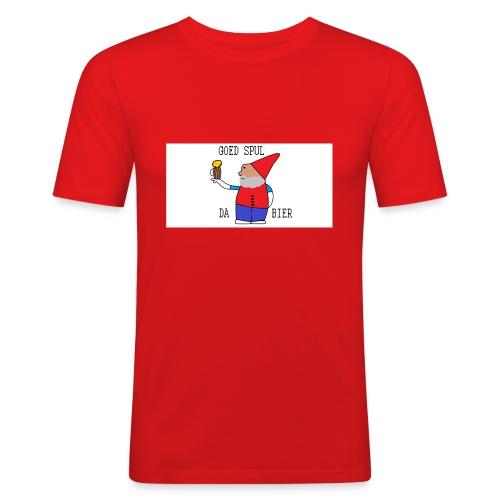 BIER KUT! - Mannen slim fit T-shirt
