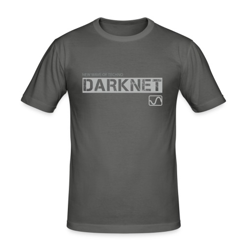 brand darknet silver - Men's Slim Fit T-Shirt