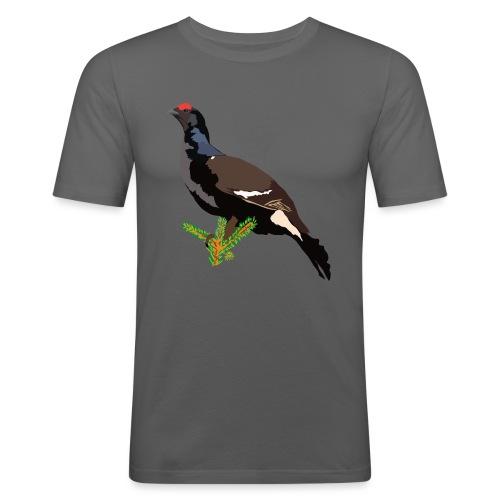 Birkhuhn - Männer Slim Fit T-Shirt