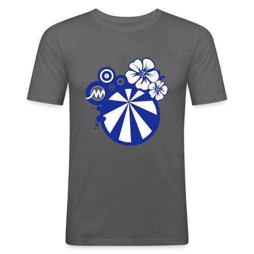 TEE SHIRTMARMARAFLEUR2 - T-shirt près du corps Homme