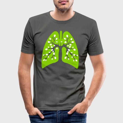 Poumon vert - T-shirt près du corps Homme
