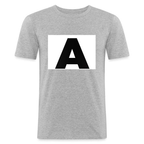 A-685FC343 4709 4F14 B1B0 D5C988344C3B - Herre Slim Fit T-Shirt