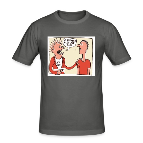 hataalltfaerg - Slim Fit T-shirt herr