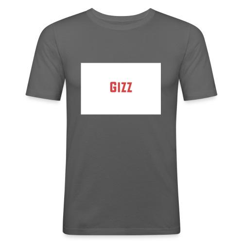 Gizz rood - Mannen slim fit T-shirt