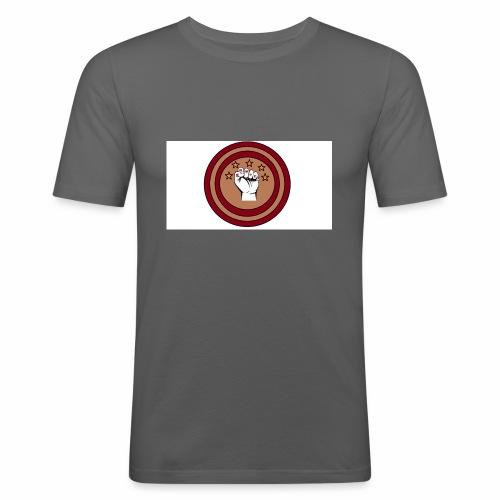 Bouclier et poing gamer - T-shirt près du corps Homme