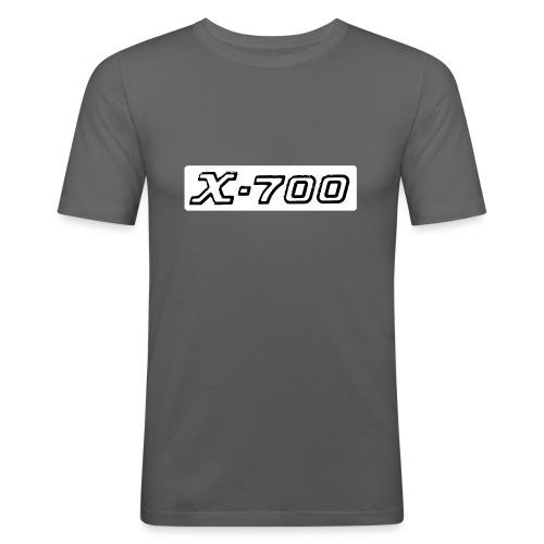 Minolta X-700 White - Maglietta aderente da uomo