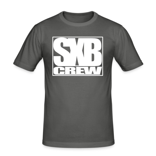 SXB Crew logo - Mannen slim fit T-shirt