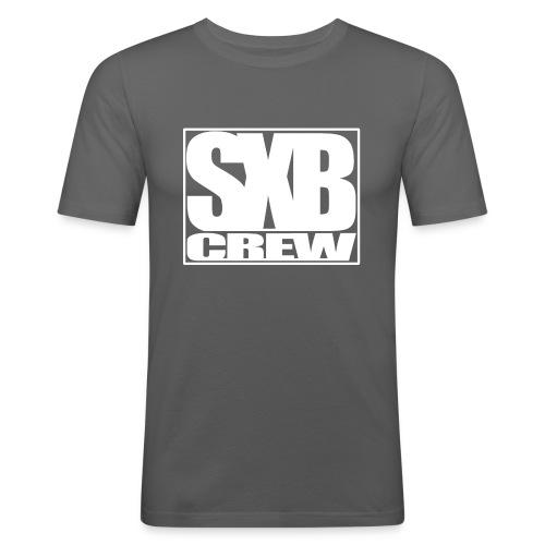 SXB Crew logo - slim fit T-shirt
