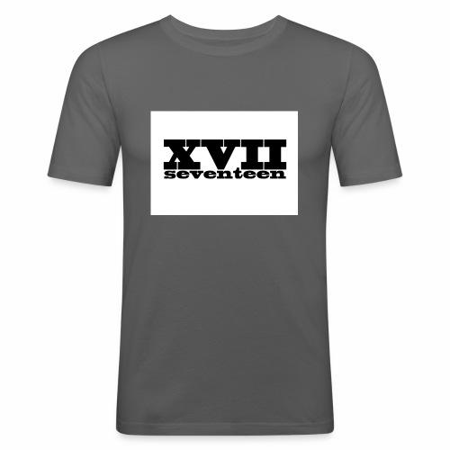 xvii - Mannen slim fit T-shirt