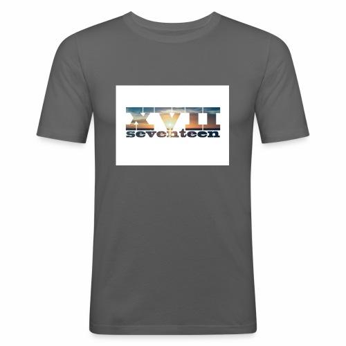 xvii 3 - Mannen slim fit T-shirt