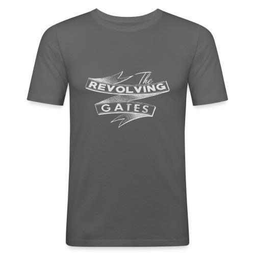 Rock n roll t-shirt by the Revolving Gates - Men's Slim Fit T-Shirt